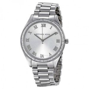 Michael Kors Blake Silver Stainless Steel Watch